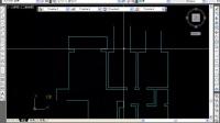 室内设计施工图第3课 第一张图纸原始结构图绘制