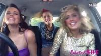 【怪咖搞笑】三个漂亮妹子又来了,车内演绎各种名曲