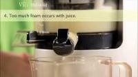 Hurom/惠人原汁机 新手教学 安装 使用 注意事项 常见问题 字幕版