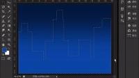 [PS]实例操作 绘制城市夜景图片 photoshop cs6频教程-ps20