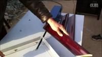 视频: 切角机4 相框拼角机器价格 十字绣打角机器供应商