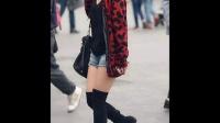 街拍之北京黑丝美女