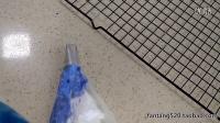 黑猫Patricake示范124韩式裱花嘴双色渐变糖霜裱花饼干