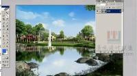 园林景观设计3dmax学习教程 室外玻璃1