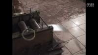 视频: 气排钉生产设备 上胶拼线 到 成型机的工作原理演示