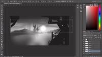 PS概念环境日光日落特效制作视频教程