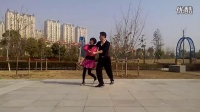 广场交谊舞 全民健身舞 双人牛仔舞(2)金华公园_高清