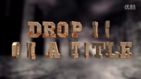 FCPX 3D标题文字插件 Ripple 3D Title Drops