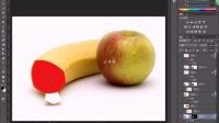 ps教程ps抠图ps调色创意水果合成