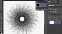 [PS]Photoshop教程PS抠图PS调色PS合成 PS幻化的线条图案