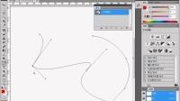 PS教程视频35 PS详细介绍钢笔工具的使用方法)  部落窝