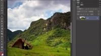 [PS]Photoshop教程PS抠图PS调色PS合成 PS内容感知移动工具:挪走草屋