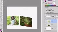 PS教程视频10 PS变换和拼合图像案例:拼合立体盒子