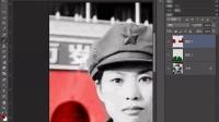 PS教程视频34 PS综合挑战案例:破损老照片修复和上色 部落窝