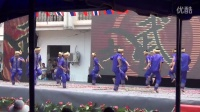 傣历1377新年节中国磨憨——老挝磨丁边境文化旅游节文艺演出傣拳