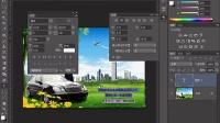 PS教程视频65 PS广告文字设计(段落文本部落窝