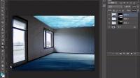 [PS]Photoshop教程PS抠图PS调色PS合成 PS综合挑战案例:在沉入水底的房间里游泳