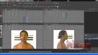 Maya真实头像建模基础视频教程——02