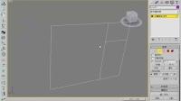 3dmax基础建模 实木脚线建模 倒角剖面