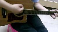 模特 李荣浩 吉他弹唱