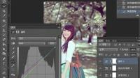 [PS]Photoshop打造柔美的中性红褐色树林美女PS教程