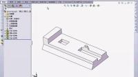 SolidWorks2014完全自学3.12.1  基准面--1.通过直线点创建基准面