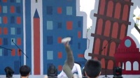 breaking韩国fusion mc 团长bboy flex裁判表演【武汉欢乐谷国际街舞争霸赛】
