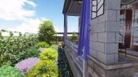合肥滨湖蓝鼎花园洋房庭院景观设计------合肥震坤园艺有限公司