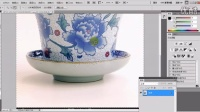 [PS]Photoshop淘宝美工教程ps基础教程瓷器茶壶水杯调整边缘抠图实例演示