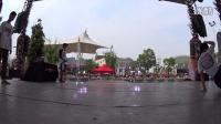 2015武汉欢乐谷国际街舞争霸赛 小艾 胖子 俊俊VS小雅 小辣椒 APPLe
