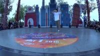 2015武汉欢乐谷国际街舞争霸赛 breaking裁判秀 韩国FUSION MC 团长BBOY FLEX