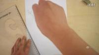 【素描3D画】立体字母150506