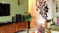 最新东南亚风格三室两厅装修设计实景作品《书香绿苑》——昶卓设计