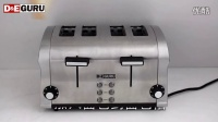 特价DEGURU德专家DTO104家用全自动不锈钢烤面包片机多士炉吐