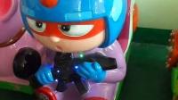 2015旺盛达新款摇摆机粗心超人摇摇机投币游戏机大型儿童娱乐宝宝摇摇游戏机