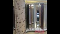 微晶石电视欧蒙元素彩晶膜背景墙装修效果图大全