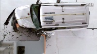 2014 Ford Flex small overlap IIHS crash test