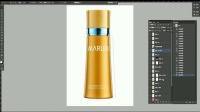 化妆品修图教程 化妆品精修