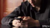 微信短信 聊天系统文字制作元素动画 AE模板源文件工程