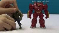 复仇者联盟2 avengers 2 浩克vs钢铁侠摆件