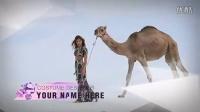 纯净素雅 时尚高端模特个人视频展示 影片花絮 栏目包装AE模