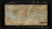 The Witcher 3 Gameplay - The Map From End To End(展示地图大小)ps4