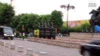 印度总理莫迪车队走过大唐不夜城