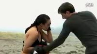 沙滩美女拳击