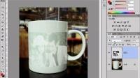 [PS]PS教程12 变形案例2:杯子上的人像Photoshop教程PS抠图PS调色PS合成