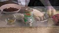 椰子巧克力冰淇淋蛋糕
