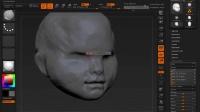 ZBrush人物头部雕刻艺术训练视频教程