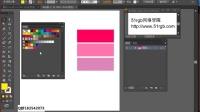 AI视频教程 色板 上 渐变存储 存储图案