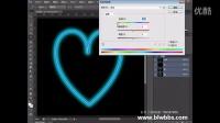 PS教程视频41 PS一颗爱心(钢笔绘制心形+发光+水晶) 部落窝