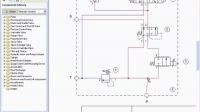 液压原理图设计软件HyDraw线路设计中重新移动和弯曲连接通道